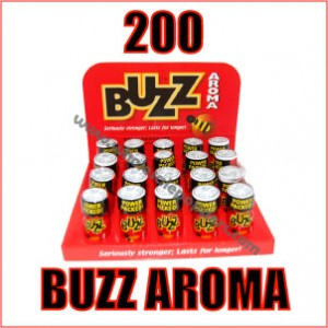 200 Bottles of Buzz Aroma Poppers Wholesale