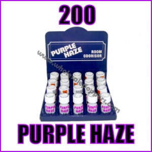 200 Bottles of Purple Haze Poppers Wholesale