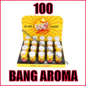 100 Bottles of Bang Aroma Poppers Wholesale